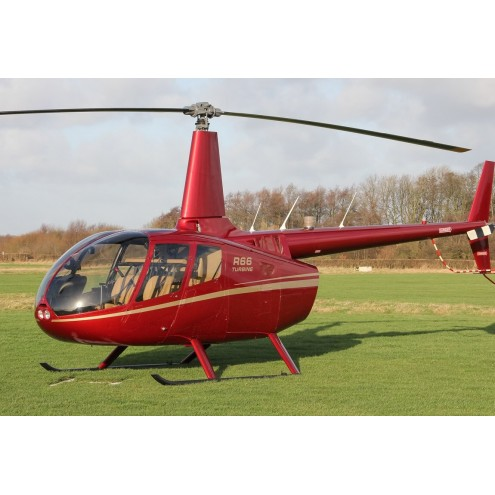 Аренда вертолета Robinson R66 с пилотом