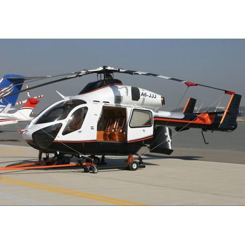 Аренда вертолета McDonnell Douglas MD 900 с пилотом