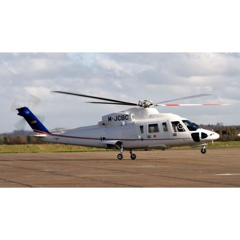Аренда вертолета Sikorsky S-76 с пилотом