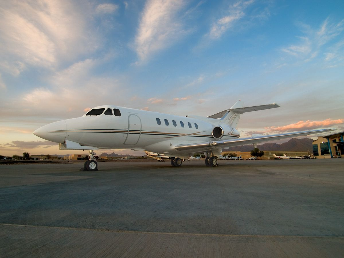 аренда Beechcraft Hawker 700
