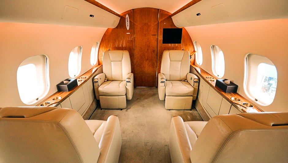 кресла Bombardier Global 5000
