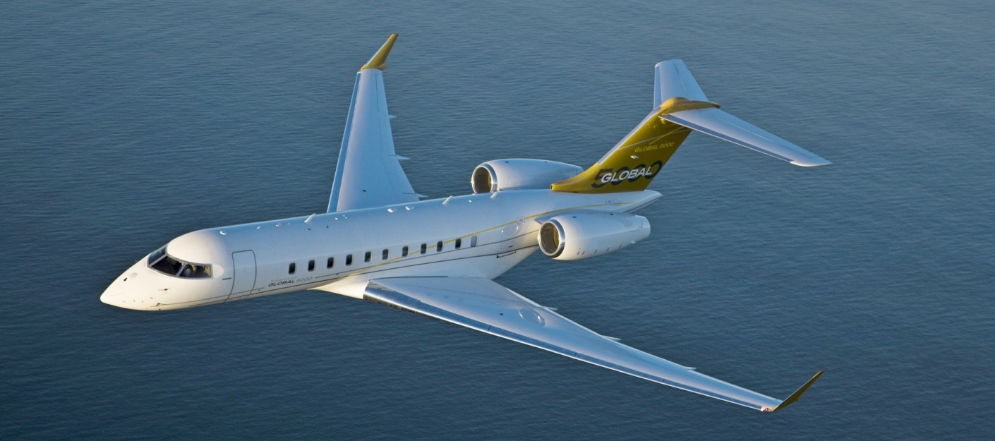 самолет Bombardier Global 5000