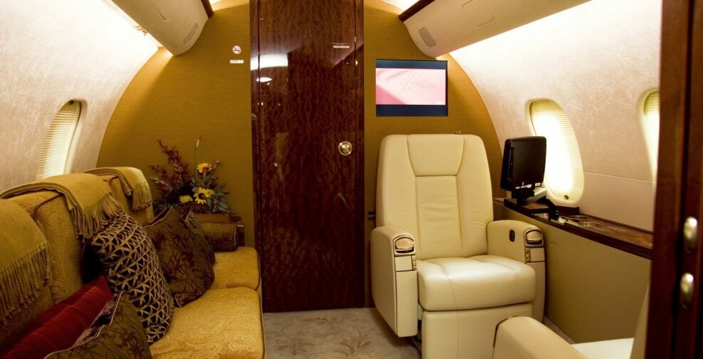 интерьер Bombardier Global 5000