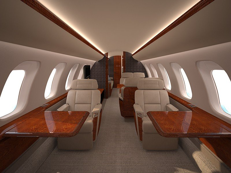 фото Bombardier Global 8000