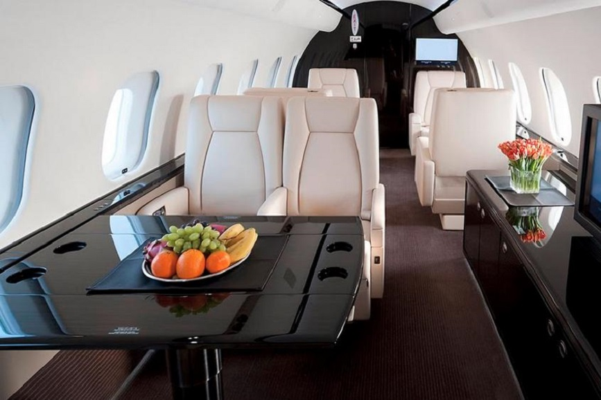 кресла Bombardier Global Express