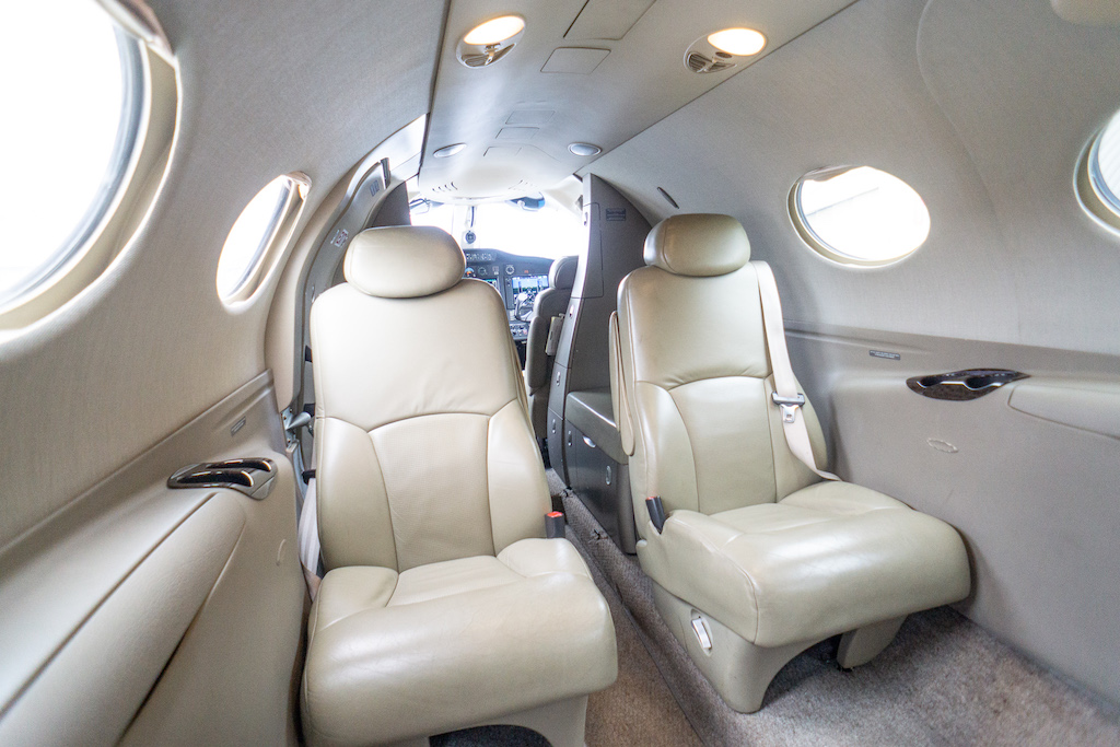 интерьер Cessna Citation Mustang
