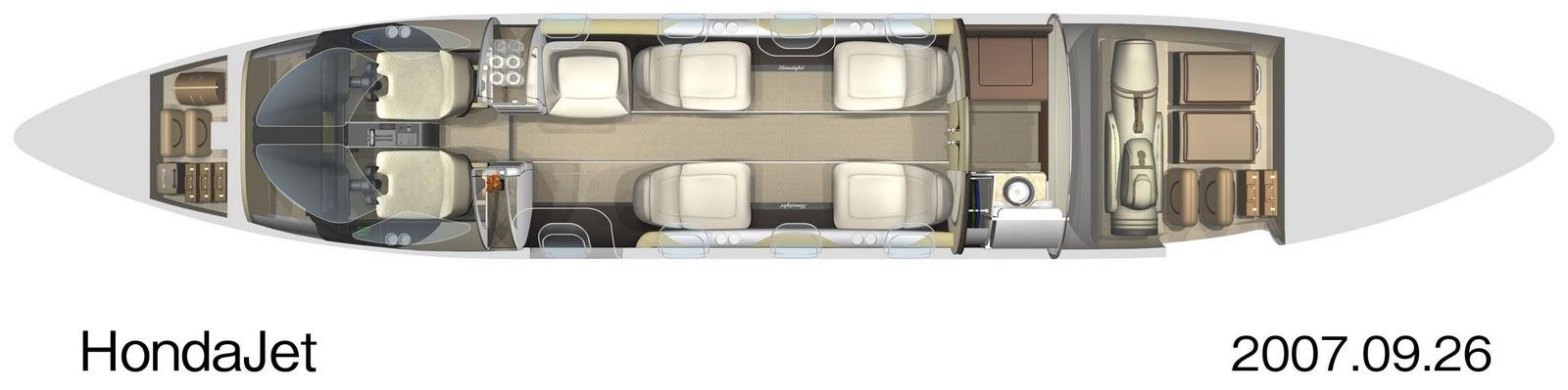 аренда частного самолета HondaJet HA-420