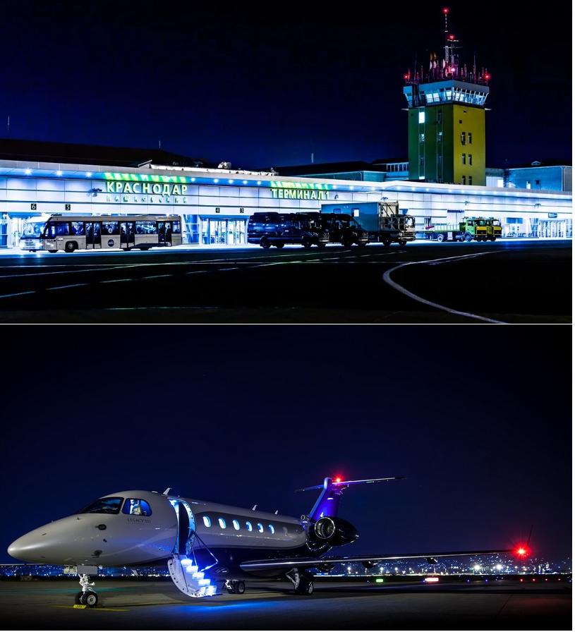 аренда частного самолета в аэропорту Пашковский