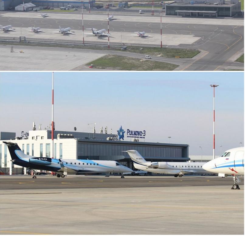 аэропорт Пулково 3 для бизнес джетов