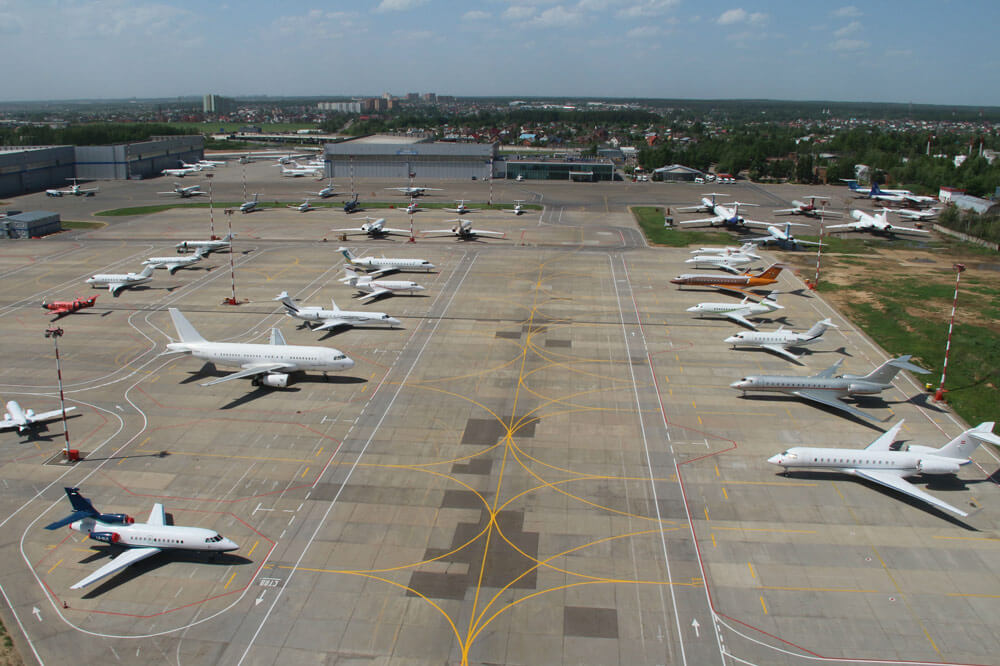 аэропорты для частных самолетов