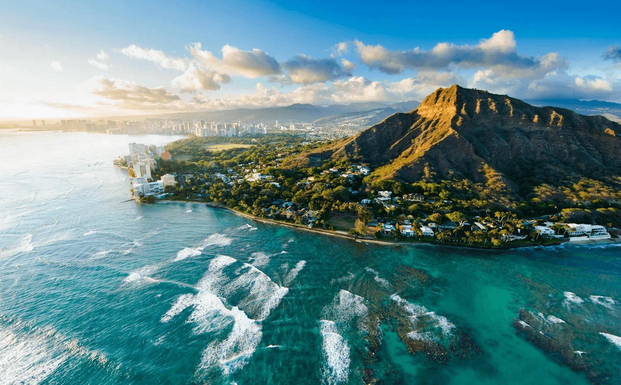перелет бизнес джетом на гавайские острова