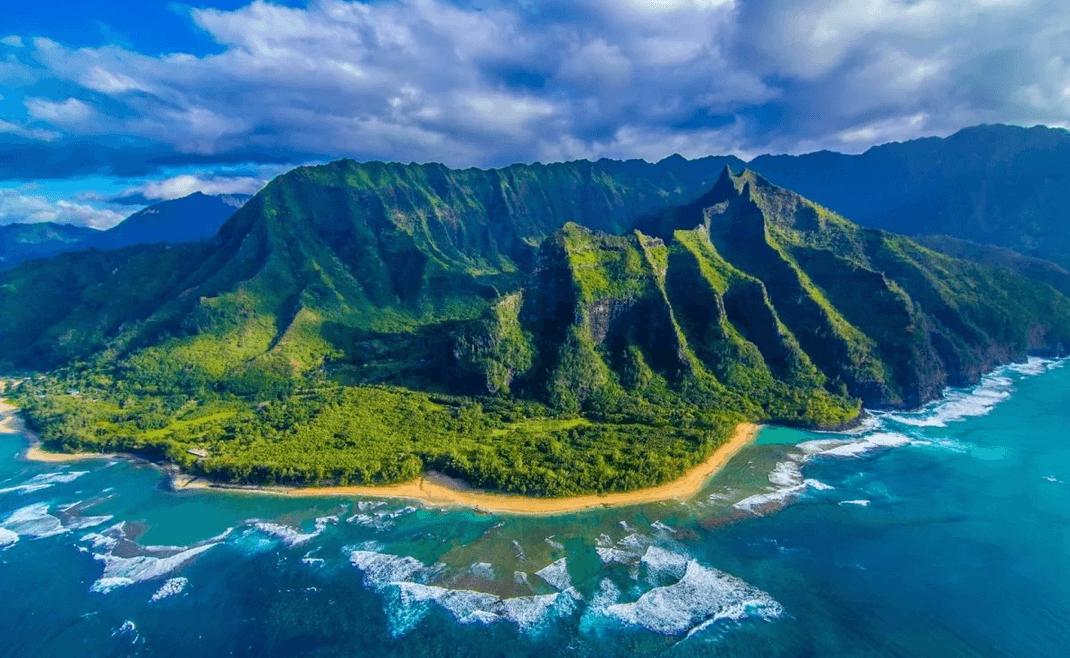 частный самолет на Гавайи