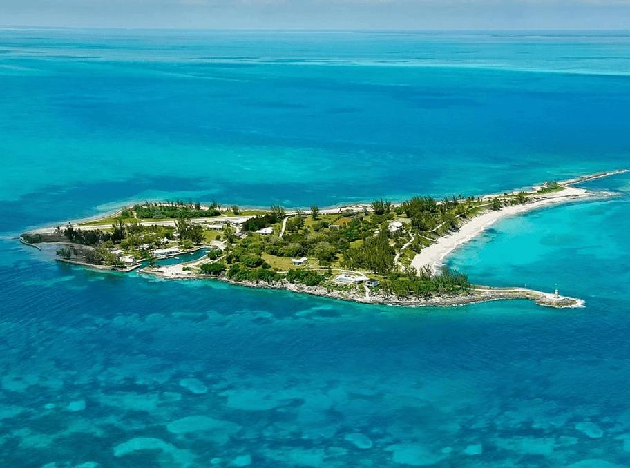 частный самолет на Багамские острова