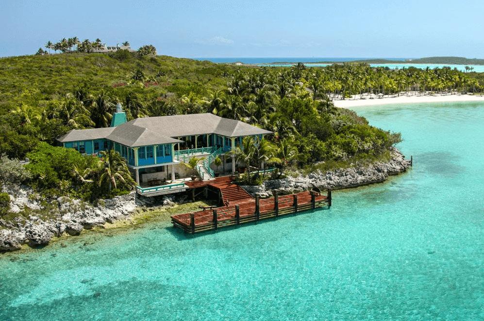 бизнес джетв на Багамы Musha Cay