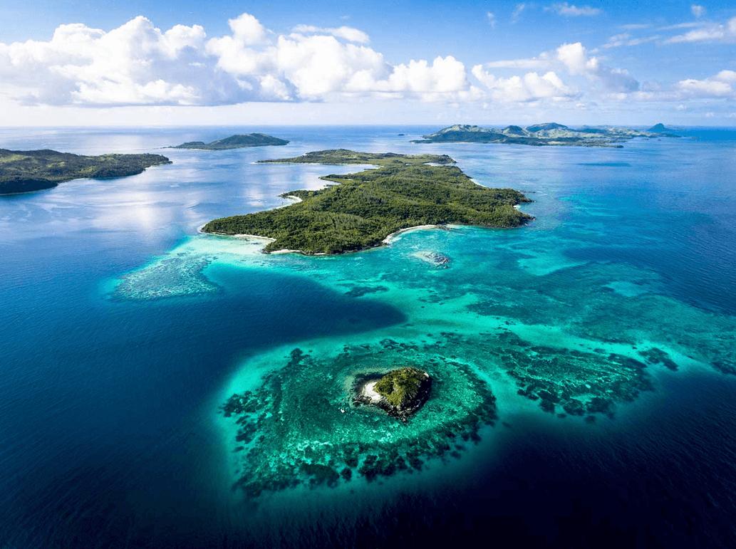 частный самолет на Черепаший остров