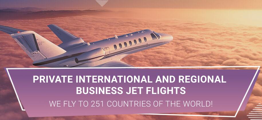business jet rental