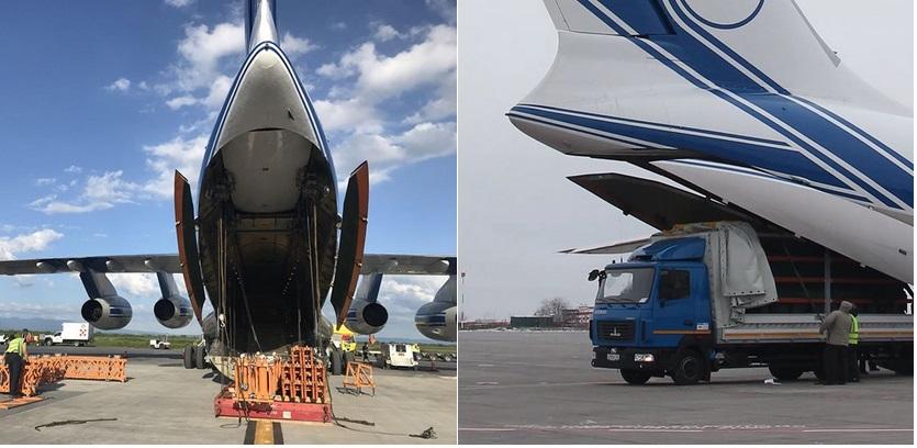 частный грузовой самолет Lockheed