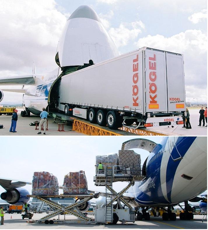 авиаперевозка больших грузов