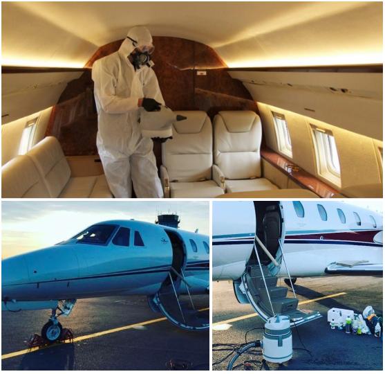 коровирус в частных самолетах