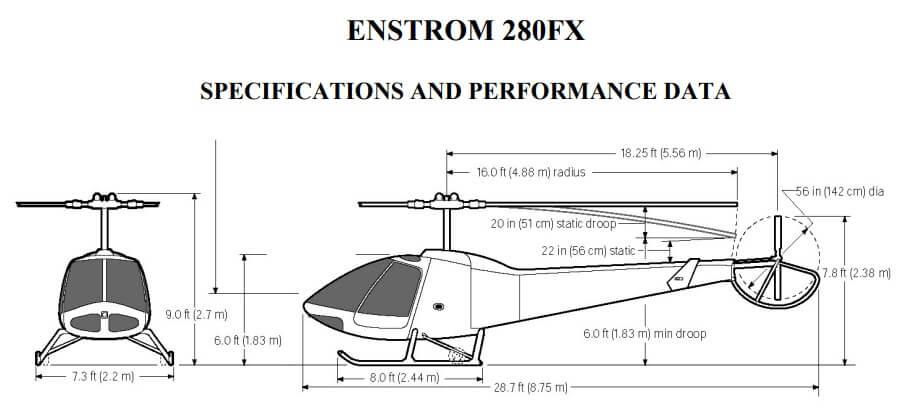 частный вертолет ENSTROM 280FX