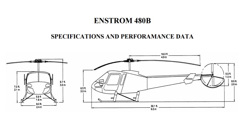 частный вертолет Enstrom 480B