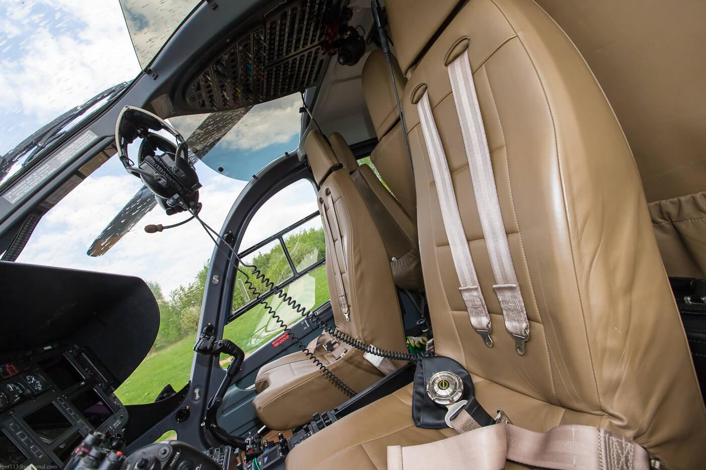 частный вертолет Eurocopter EC 145