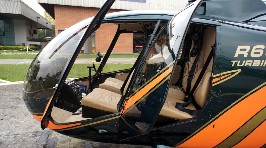 частный вертолет robinson R66