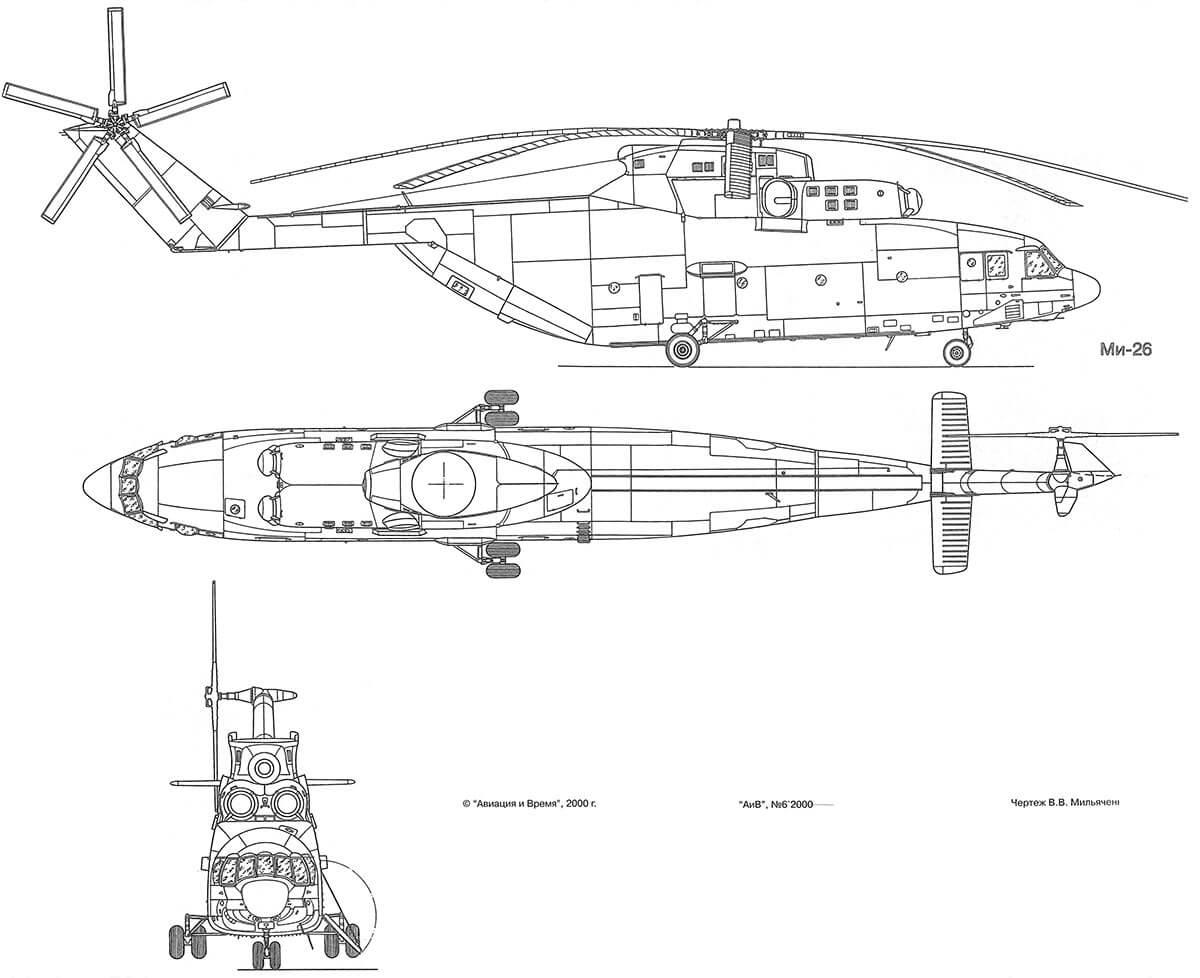 частный вертолет МИ - 26Т
