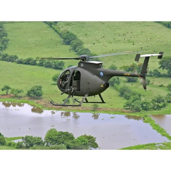частный вертолет MCDONNELL DOUGLAS MD 500