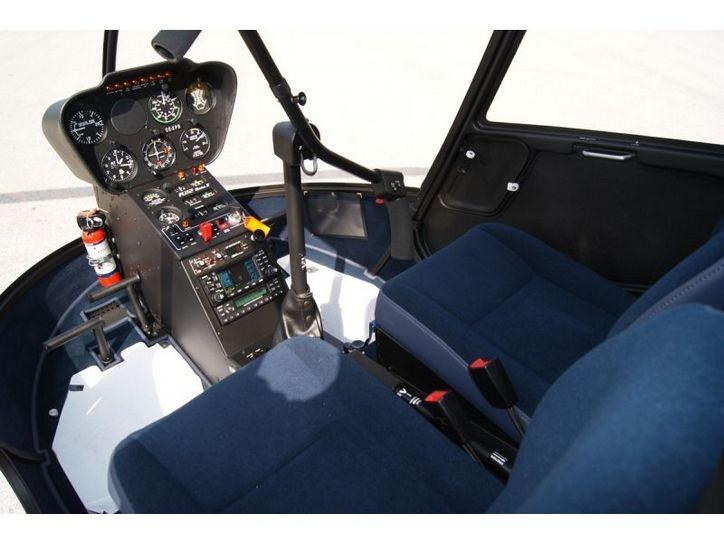 частный вертолет Robinson R22