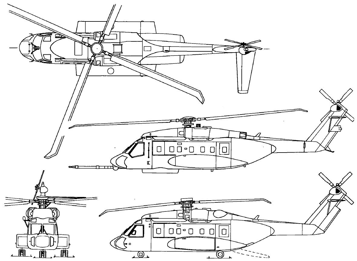 частный вертолет SIKORSKY s-92