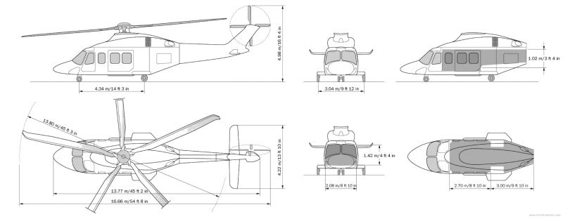 частный вертолет Agusta Westland GrandNew