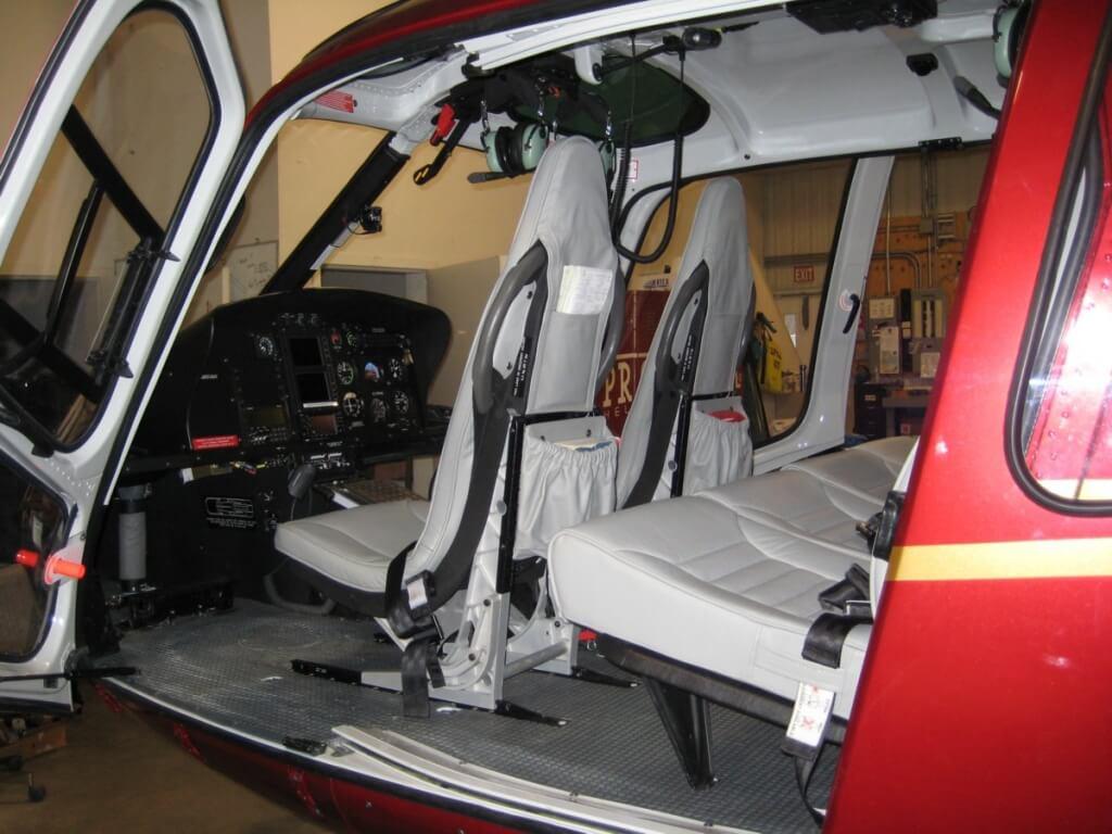 частный вертолет EUROCOPTER AS 350 B3