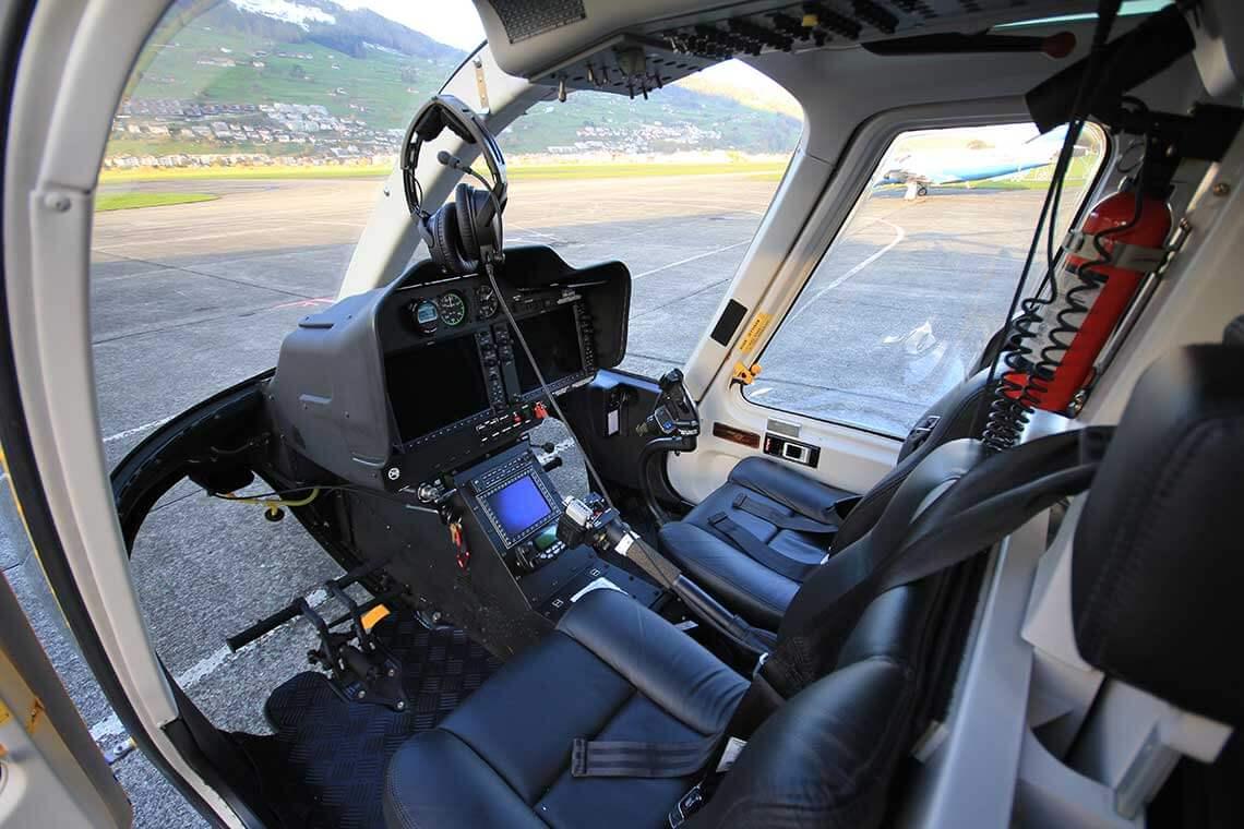 частный вертолет BELL 407